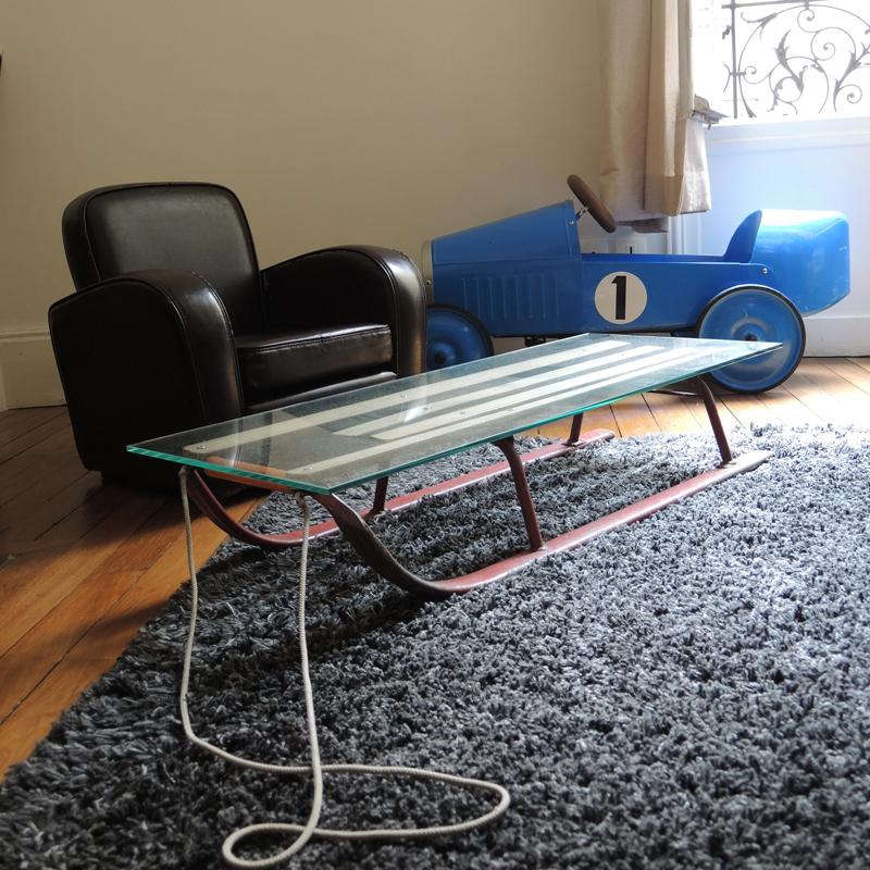Graines de broc jouets d co et mobilier vintage - Table basse annee 50 60 ...
